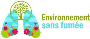 Logo d'environnement sans fumée.