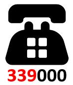 Visuel téléphone et 339000