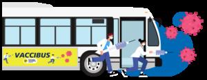 Image du Vccibus, clinique mobile de vaccination contre la covid-19